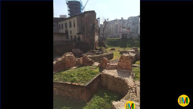 Resti della città romana