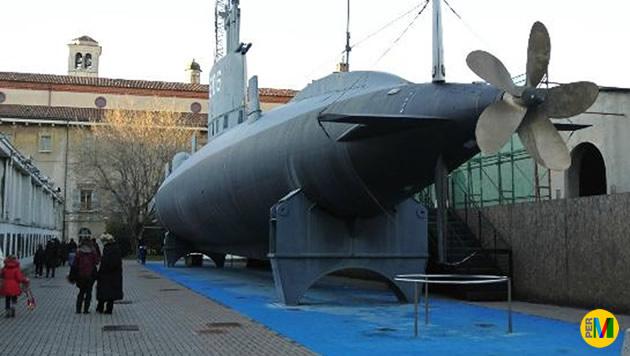 Il sommergibile Toti al Museo della Scienza e della Tecnologia