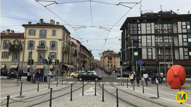 L'area pedonale di Piazza XXIV Maggio