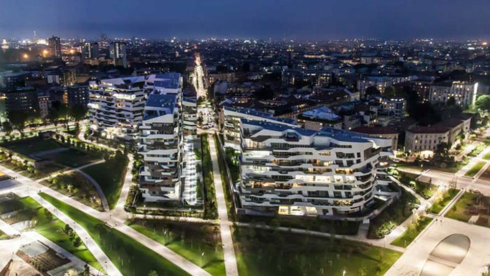 Citylife dove c 39 era la fiera campionaria nata la milano for Prezzi city life milano